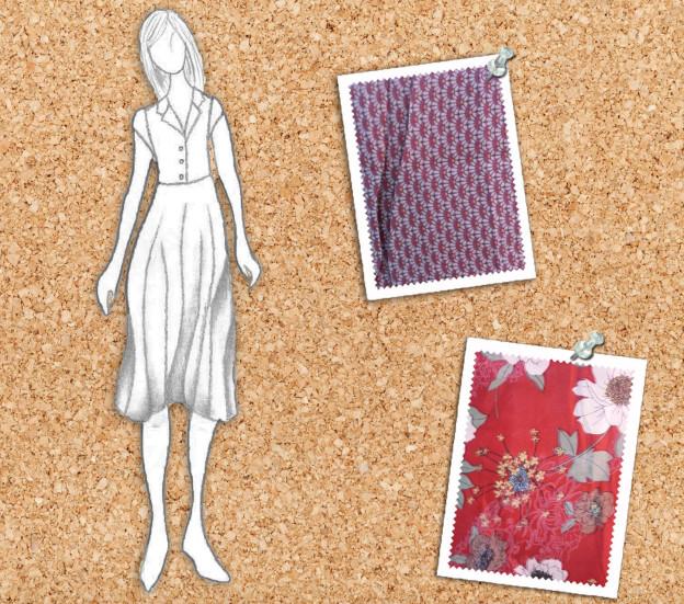 Circus-Carousel-iLoveCarousel-Vintage-Retro-Design-Dress-Ava Gardner