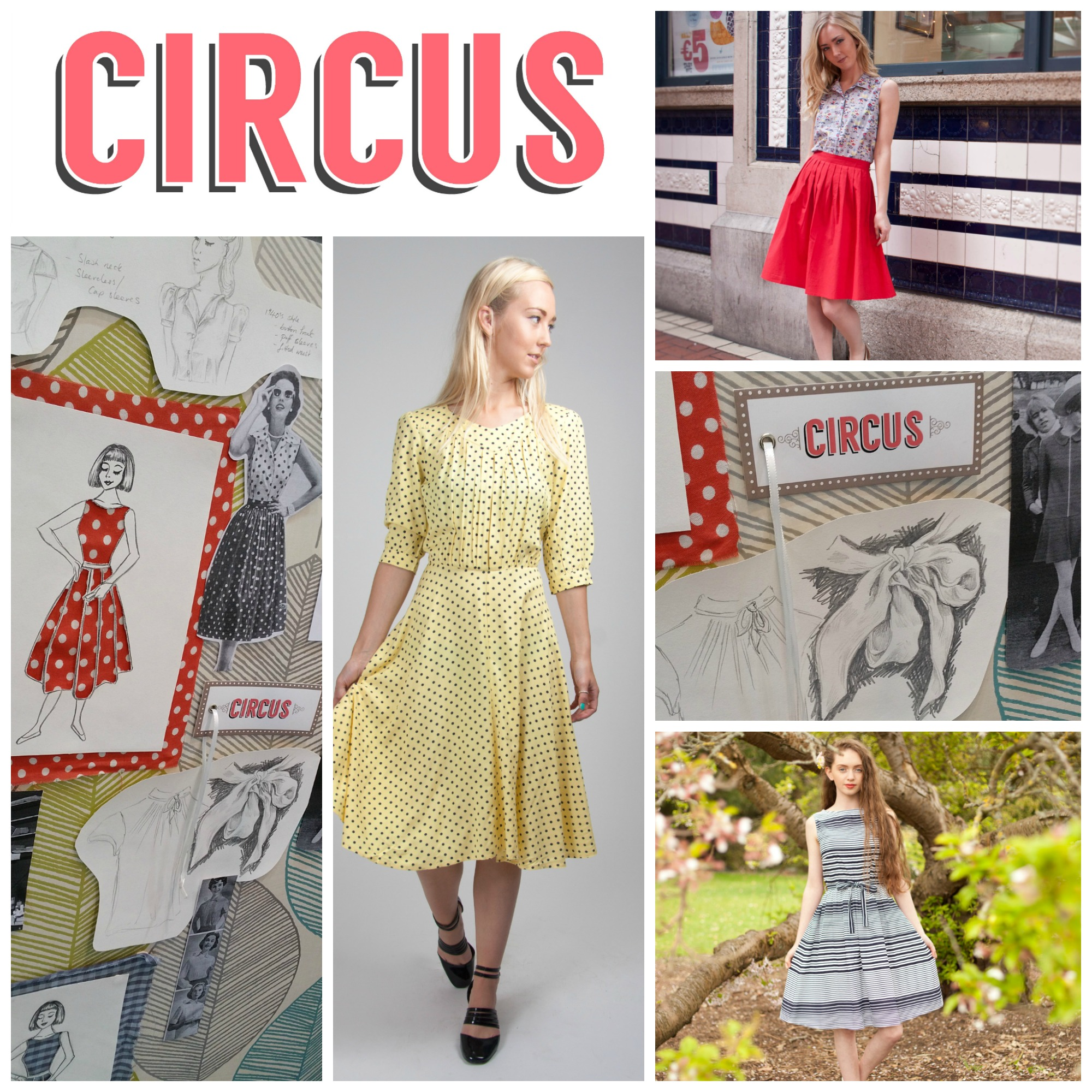 Vintage inspired Irish designed Circus