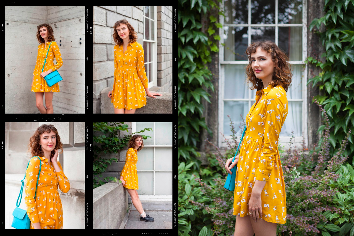 vintage inspired fashion summer brights