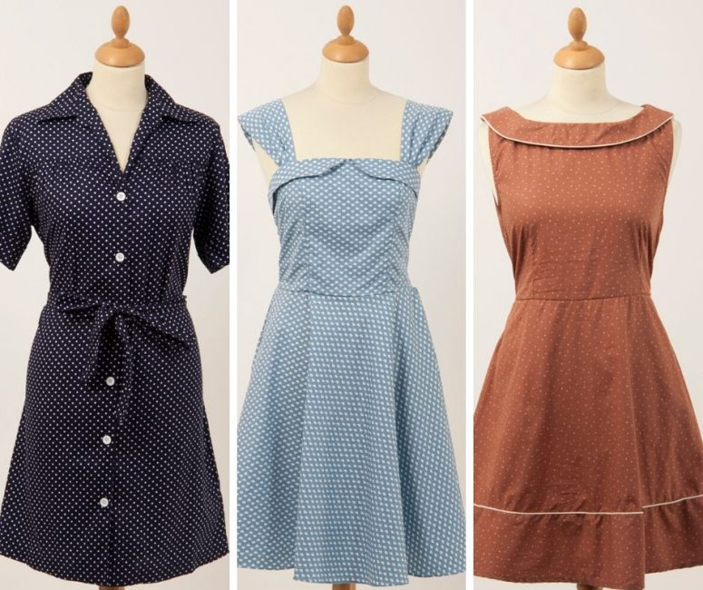 Some of our first womens vintage dresses sourced in Bangkok